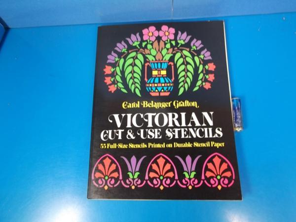 1976年 VICTORIAN Cut&Use Stencils _画像1