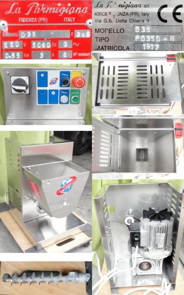 ◆分解清掃整備済!希少!La Parmigiana製パスタマシンD-35◆_画像2