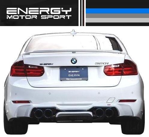 【M's】 BMW 3シリーズ F30 リア アンダー スポイラー ENERGY_画像2