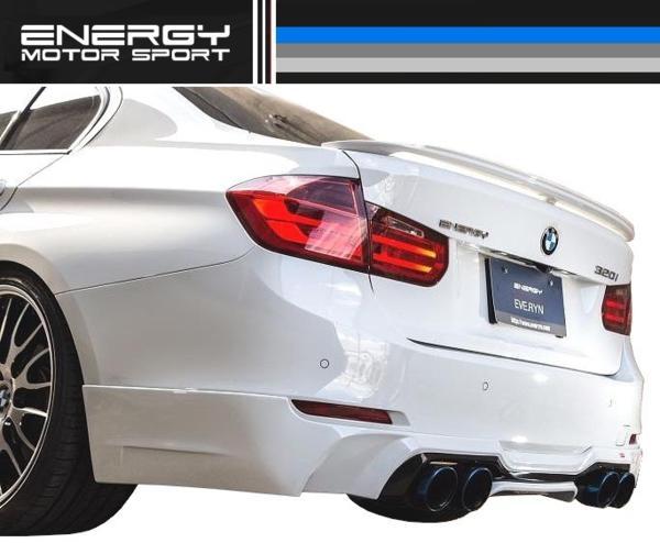 【M's】 BMW 3シリーズ F30 リア アンダー スポイラー ENERGY_画像1