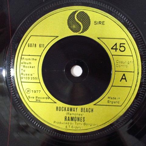 Rockaway Beach☆貴重77年UKオリジPS付45☆_画像3