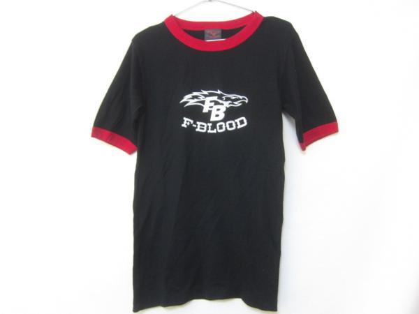F-BLOOD Fブラッド(藤井フミヤ藤井尚行)Tシャツ黒赤