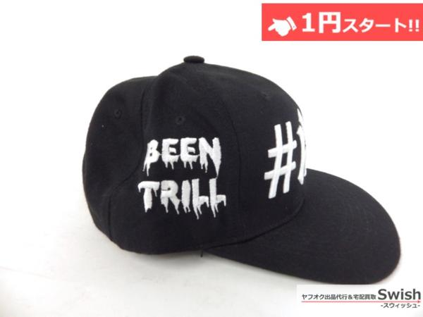 A895●40oz NYC フォーティーオンス x BeenTrill ビーントリル●美品 NEW YORK YANKEES SNAPBACK CAP ヤンキース キャップ ① 黒●_画像3