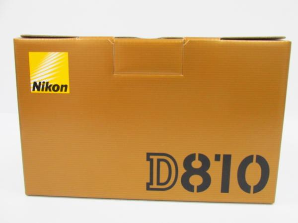 美品 Nikon ニコン D810 Body FX フルサイズ フォーマット 高級一眼レフ カメラ★4589
