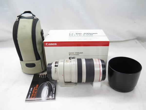 Canon Lレンズ EF100-400mm F4.5-5.6L IS USM ▼ 4DC19-3