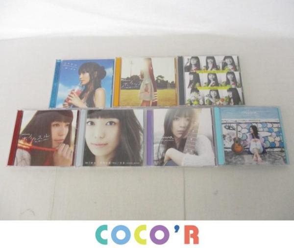アーティスト CD・DVD miwa ホイッスル等 8点 グッズセット 美品