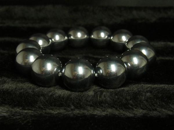テラヘルツ鉱石ブレスレット 大玉16ミリ パワーストーン数珠_画像1
