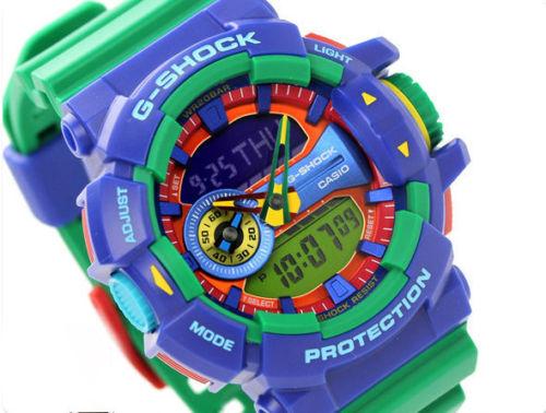 【1円】【新品正規品】G-SHOCKカシオCASIOGショックGSHOCKハイパーカラーズブルー レッドグリーンメンズダイバーレディース腕時計ギフト