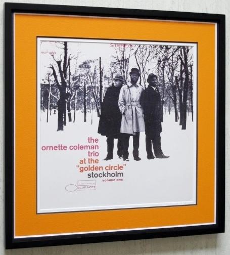 オーネット・コールマン/額入り名盤 ポスター額装/Ornette Coleman/at the golden circle stockholm/ブルーノート/Framed Ornette Coleman