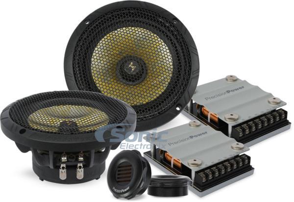■USA Audio■最新傑作Precision PowerプレシジョンパワーP.65C2, 16.5cm Max.300W●保証付●税込_画像2
