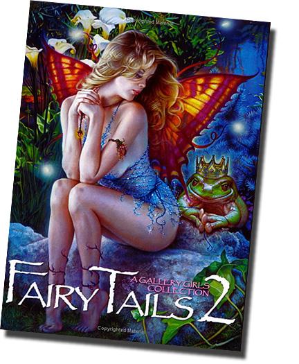 洋書 妖精画集/ フェアリーテール2/ Fairy Tails2: A Gallery Girls Collection(輸入品_画像1