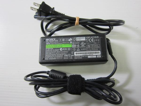 SONY純正※VGP-AC16V8 16V 4A/VGP-AC16V9対応☆動作保証_画像1