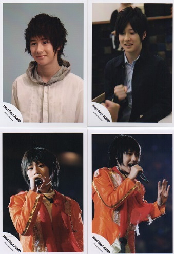 Hey!Say!JUMP 森本龍太郎 公式写真4枚セット●fa-1103