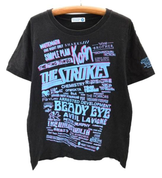 メール便可 SUMMER SONIC 2011 サマーソニック ライブ イベント Tシャツ M 激安 !【BIG2nd大阪店】【170520】【メンズ】mts3843