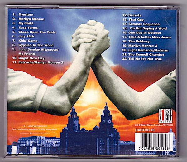 Blood Brothers - The 1995 London Cast Recording_画像2