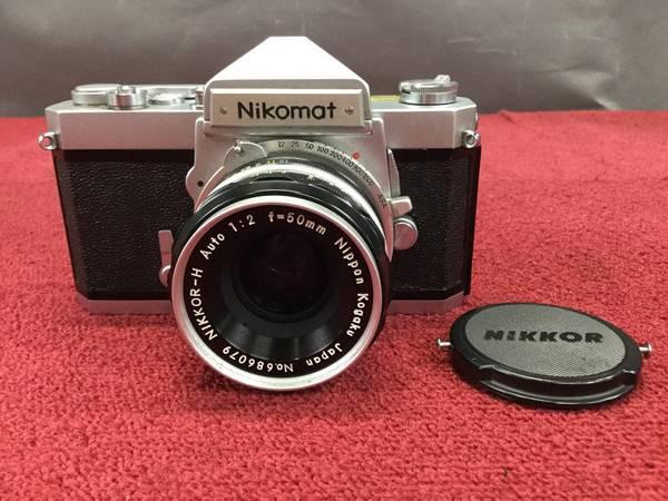 Nikon Nikomat FT MF一眼レフカメラ●ジャンク品