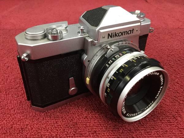 Nikon Nikomat FT MF一眼レフカメラ●ジャンク品_画像2