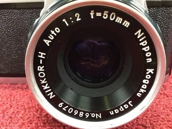 Nikon Nikomat FT MF一眼レフカメラ●ジャンク品_画像4