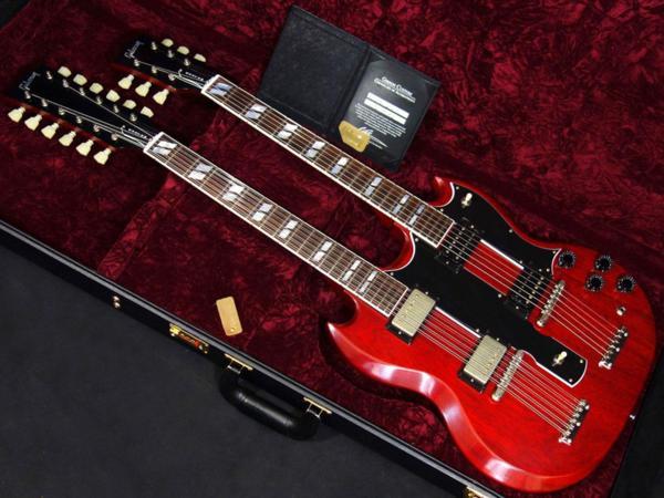 新品「 Gibson Custom Shop 【 Mid 60s EDS-1275 Double Neck VOS Heritage Cherry 2017 】」_画像2