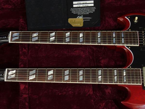 新品「 Gibson Custom Shop 【 Mid 60s EDS-1275 Double Neck VOS Heritage Cherry 2017 】」_画像4