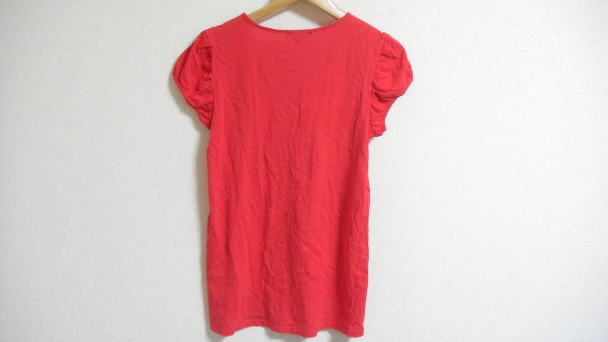 AP91■GAP KIDS ギャップ キッズ 半袖Tシャツ/カットソー 160 赤色 レッド_画像2
