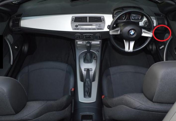 ◇◇Z4 E85 E86 【BMW純正品】ドリンクホルダー 右側  【2.2i・2.5i・3.0i・3.0si・Mクーペ・Mロードスター】平成15~21年_画像2
