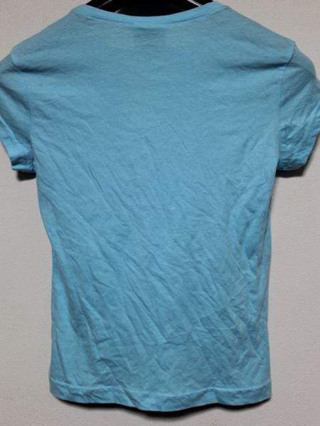 ロキシー Roxy レディース半袖Tシャツ Sサイズ ブルー 新品_画像3
