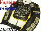 ●※新品●バンソン VANSON×イエローコーン YeLLOWCORN 本革レザーライダース Wネーム