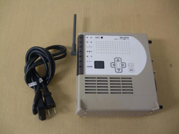 通電確認済み 中古 SII SA-2310 拡張ステーション/無線リピータ_SA-2310 拡張ステーション/無線リピータ