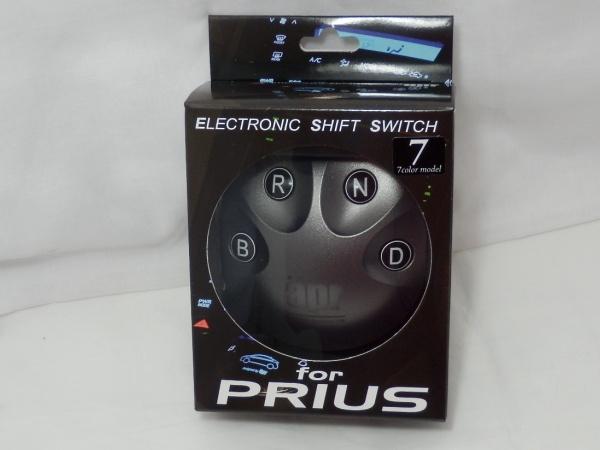 【ZVW30プリウスのシフトノブをボタン化】 APR エレクトリック シフト スイッチ ESS7 ポジション コントロール 4H0012 エーピーアール_aprシフトスイッチESS7nプリウスZVW30 2