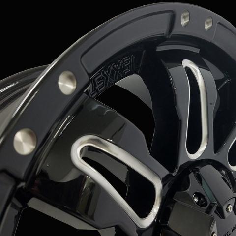 LEXXEL【Balano offroad style】LX570、ランクル200系、100系、セコイア、タンドラ 20インチ 海外輸入タイヤ 285/50R20 タイヤホイールset_画像3