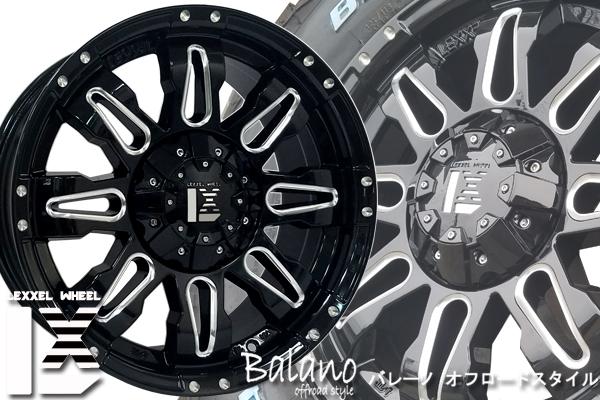 LEXXEL【Balano offroad style】LX570、ランクル200系、100系、セコイア、タンドラ 20インチ 海外輸入タイヤ 285/50R20 タイヤホイールset_画像1