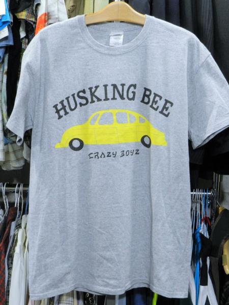 即決 ハスキングビー Tシャツ M HUSKING BEE