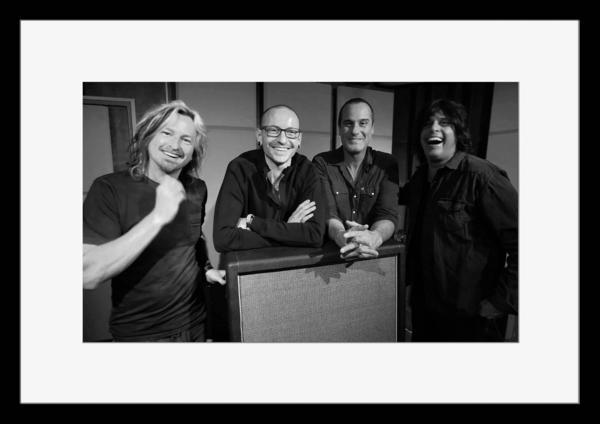 BW:人気ロックバンド!ストーン・テンプル・パイロッツ/Stone Temple Pilots/STP/モノクロ写真フレーム-5