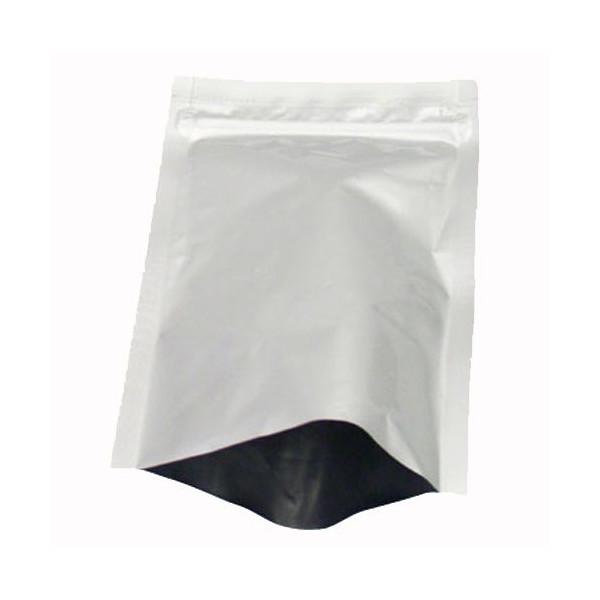 セイニチ ラミジップ アルミチャック袋 AL-F 1袋50枚入(チャック付ラミネート袋)+バラ9枚で全59枚_画像3