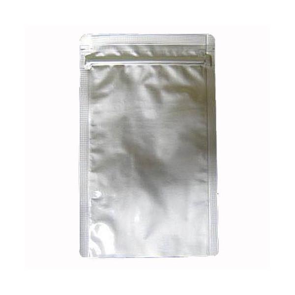 セイニチ ラミジップ アルミチャック袋 AL-F 1袋50枚入(チャック付ラミネート袋)+バラ9枚で全59枚_画像2