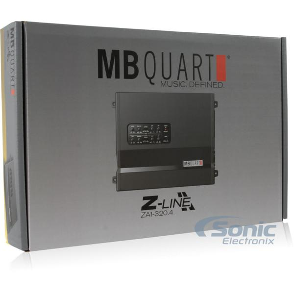 ■USA Audio/MBクォートMB Quart ZA1-320.4 4ch Class SQ AB税込_画像7