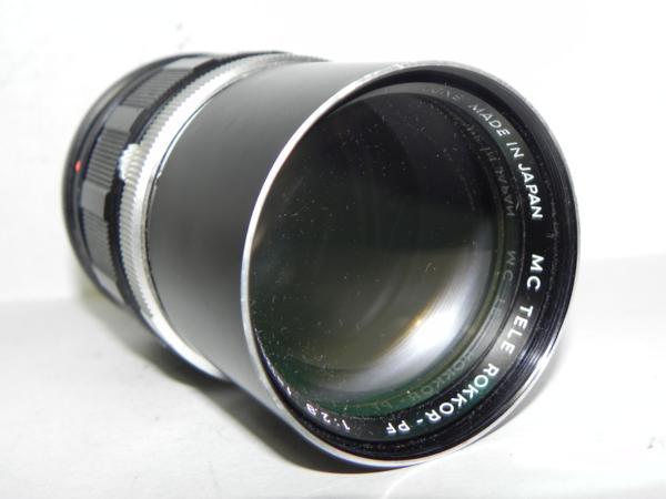 *ジャンク品 Minolta MC TELE ROKKOR-PF 135mm/f 2.8*_画像2