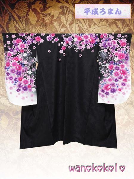 【和のこころキッズ】二尺袖着物・袴セット◇小学校卒業式◇301_画像3