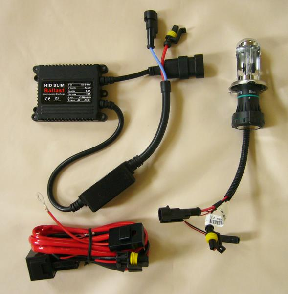 HIDキット2 12V 35W 6000K H4 Hi/Lo スライド式1RB-新品-_画像1