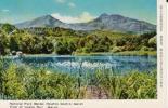 ∞001 絵葉書 国立公園磐梯高原 五色沼 湖水瑠璃沼の風光