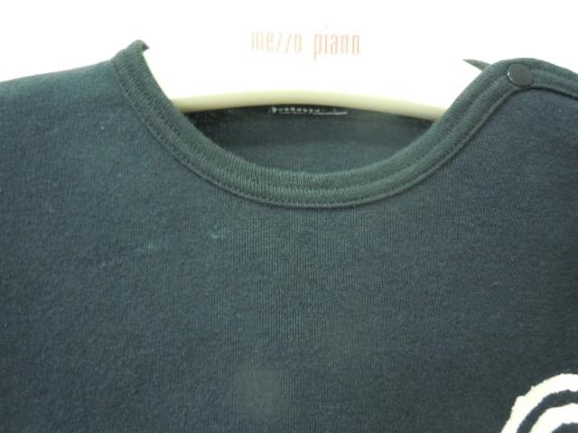ヒスミニ ヒステリックミニ HYSTERIC MINI 70cm 長袖Tシャツ 黒_画像2