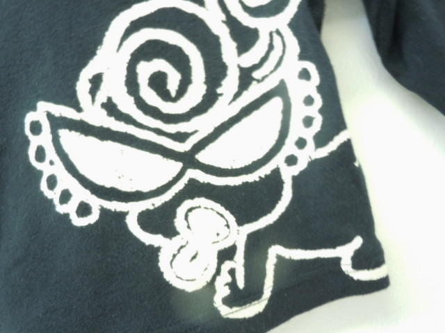 ヒスミニ ヒステリックミニ HYSTERIC MINI 70cm 長袖Tシャツ 黒_画像3