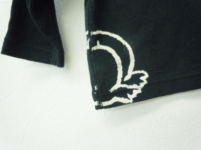 ヒスミニ ヒステリックミニ HYSTERIC MINI 70cm 長袖Tシャツ 黒_画像5