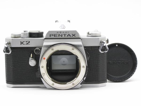 ★ハロ-カメラ★5892 PENTAX K2 B.7014865 クロームBody 難有 動作品