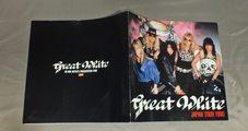 ★パンフ グレイト・ホワイト/日本公演 1990★