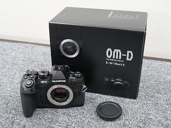 オリンパス OLYMPUS OM-D E-M1 MarkⅡ カメラ 元箱付 @39392