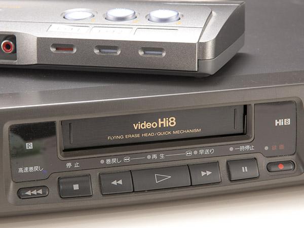 ソニー SONY Hi8 EV-PR2 NTSC ビデオデッキ ジャンク品 おまけあり  SMA7103_画像4