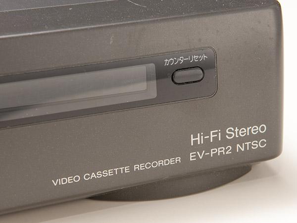 ソニー SONY Hi8 EV-PR2 NTSC ビデオデッキ ジャンク品 おまけあり  SMA7103_画像5