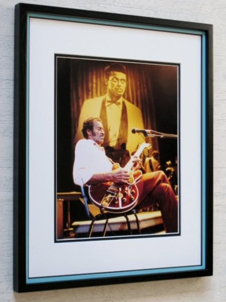 Chuck Berry/86 アートピク額装品/チャック・ベリー/Hail'Hail